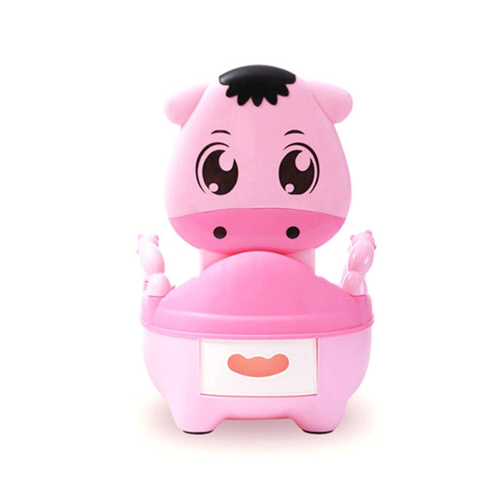 Children Baby Potty Training Cows Boy Girl Portable Toilet Seat Infant Potty Toilet Pot @ZJF