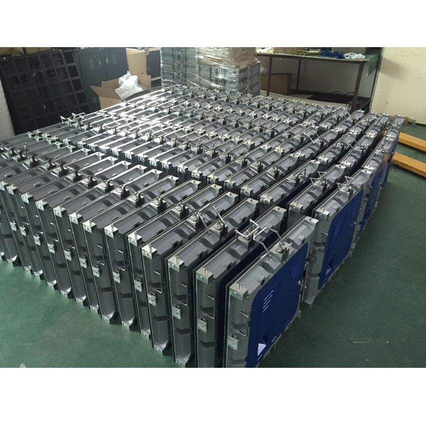 P5 intérieur 640X640mm moulage sous pression en Aluminium armoire rvb affichage polychrome LED pour panneau publicitaire