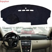 For mazda 3 mazda3 BK 203 2004 2005 2006 2007 2008 2009 Flannel Dashmats Dashboard Covers Dash Pad Car Mat Carpet Accessories