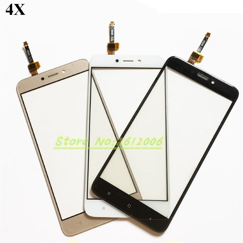 5.0'' Mobile Phone Touch Panel Screen Glass Lens For Xiaomi Redmi 4X Touchscreen Sensor Touchpad Front Glass+tools