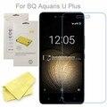3x claro transparente protector de pantalla lcd película protectora para bq aquaris u más