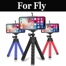 Portable Mini Flexible Sponge Octopus Tripod Phone Camera Holder Bracket For Fly Nimbus 15 16 7 9 Photo Pro Power Plus 2 Xxl