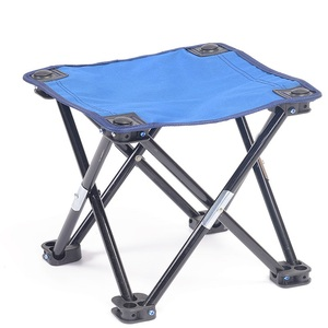Image 2 - Folding Chair Camping Equipment Ultralight Fishing Stool Portable Mountaineering Hike Chair Outdoor Mini Barbecue Beach Chair