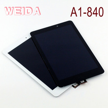 WEIDA 8 LCD Display For Acer Iconia A1 A1-840 LCD Display Touch Screen Assembly Replacement A1 840 A1-840HD