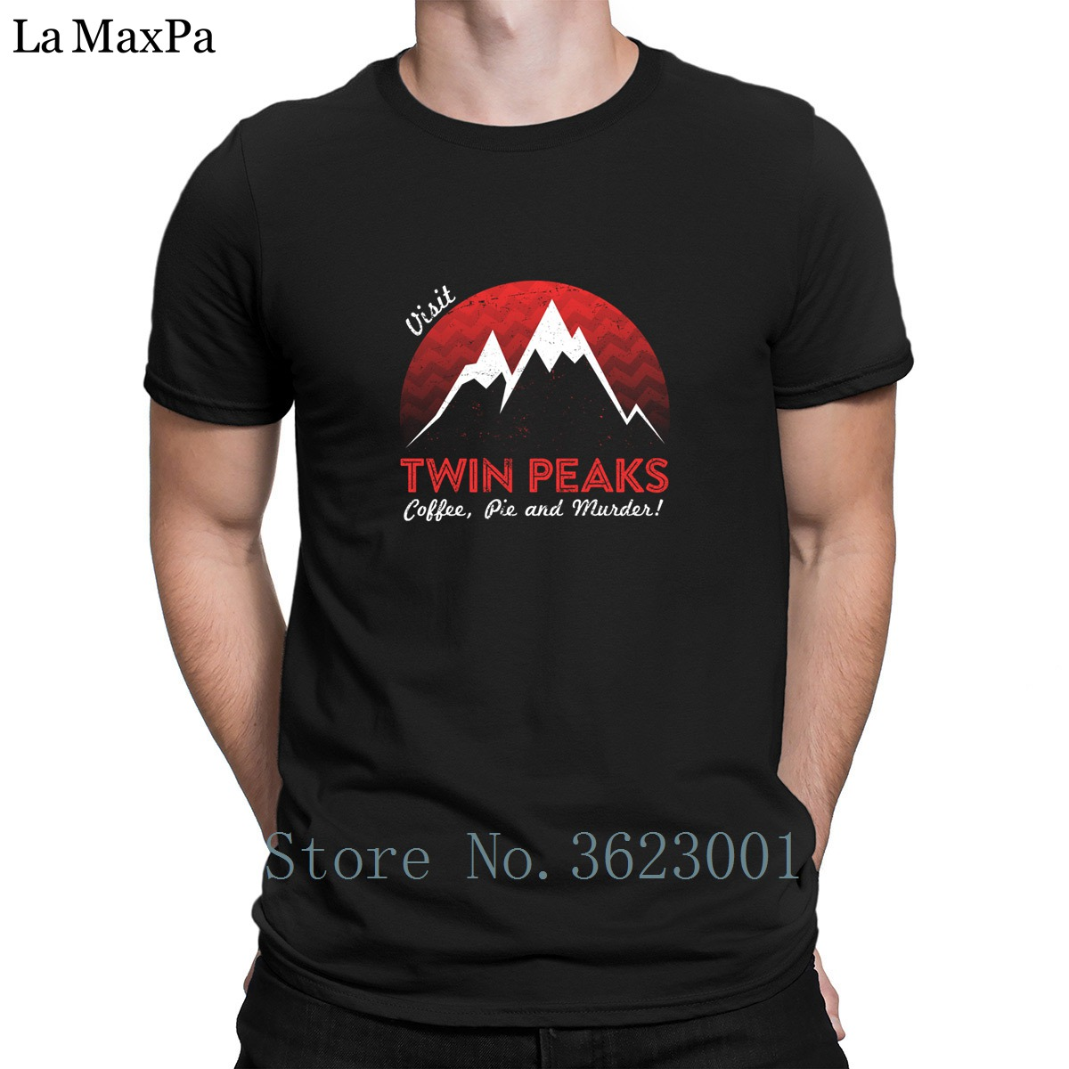 Creature Best Tee Shirt For Men Visit Twin Peaks T Shirt Awesome Cotton Men Tee Shirt Trend T-Shirt For Men Top Quality 2018