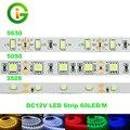 СВЕТОДИОДНЫЕ Полосы 3528 5050 5630 Гибкие Светодиодные DC12V 60LED/m 5 М/лот RGB/Теплый белый/Белый/Холодный Белый/Красный/Зеленый/Синий.