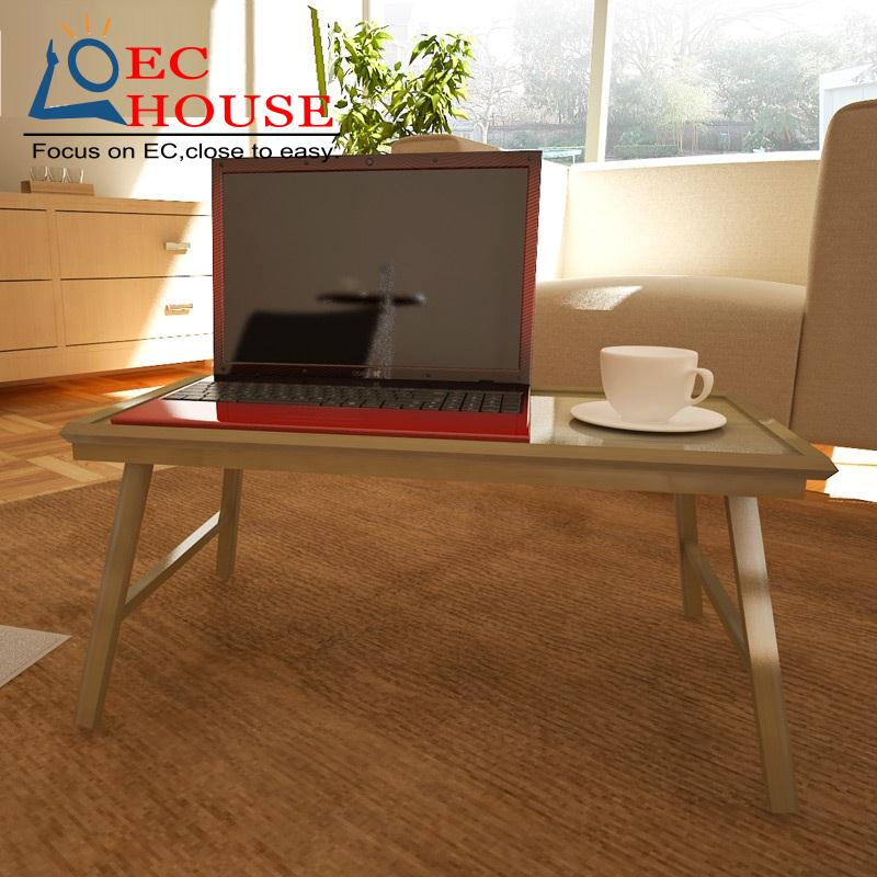 ФОТО Zhu Le pallet bed notebook desk, comter desk folding simple household tray 33010 FREE SHIPPING