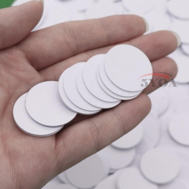 10pcs/Lot Ntag215 NFC TAG Sticker Key Tags llaveros llavero Token Patrol Universal Label RFID Tag Mini NFC Phone Tag