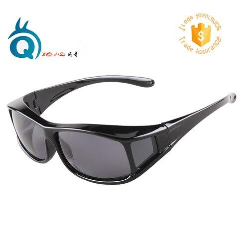 o envio gratuito de oculos polarizados onnebril uv400 caber sobre oculos para homens e mulheres