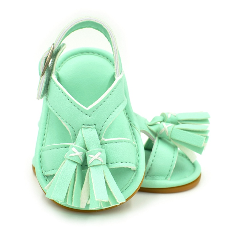 2017 New Fashion Sweet Newborn Girl Shoes Summer Button Princess Shoes Baby Girls Sandals Shoes