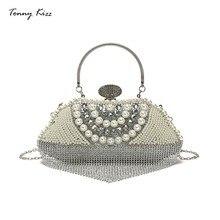 Luxury handbags women bags designer metallic lady shoulder messenger diamonds evening tote crossbody party wedding