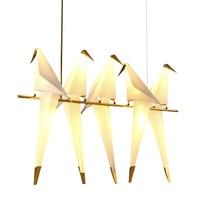 LED الطيور جدار مصباح أباجورة الإبداعية اوريغامي رقة رافعة جدار ضوء ل وفت نوم دراسة بهو غرفة الطعام