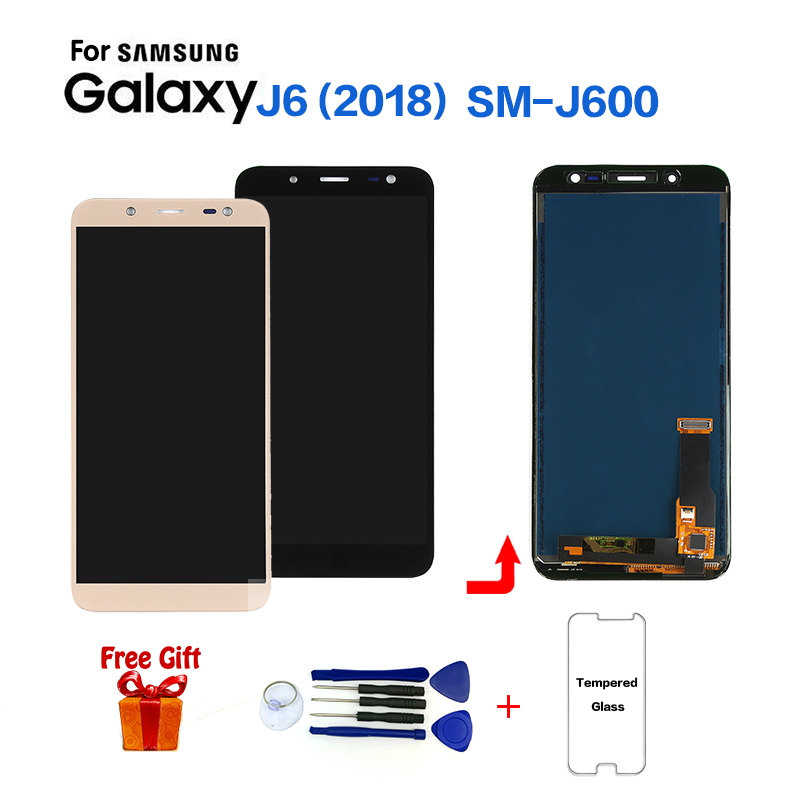 TFT For Samsung Galaxy J6 2018 J600 J600F J600FN Display Lcd Screen Replacement For Samsung On6 J600G Lcd Display Screen Module