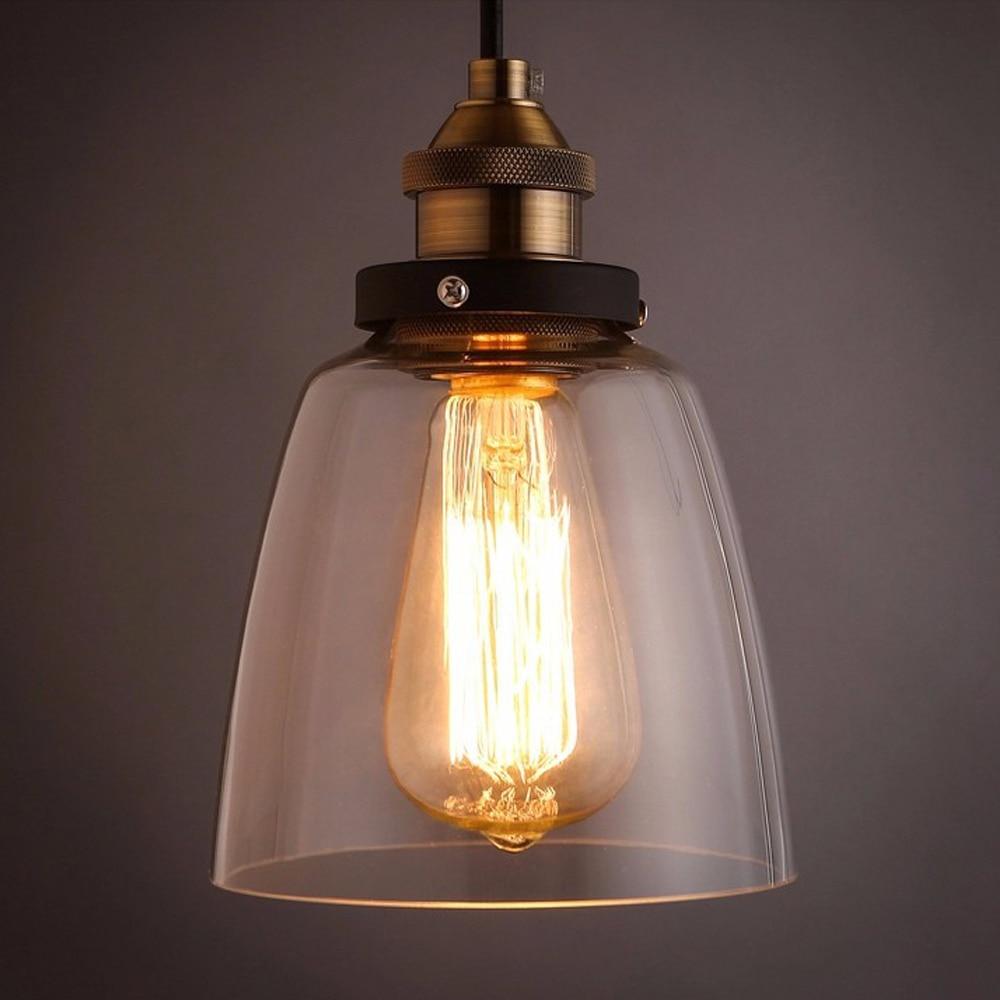 american vintage pendant lights with clear glass antique pendant lamps e27 110v 220v for dinning room antique pendant lighting