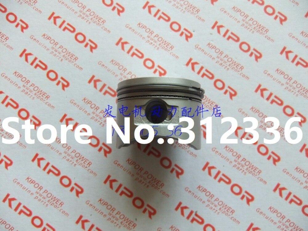 Livraison gratuite IG1000 Piston moteur à essence piston anneau costume KIPOR IG1000 générateur à essence générateur