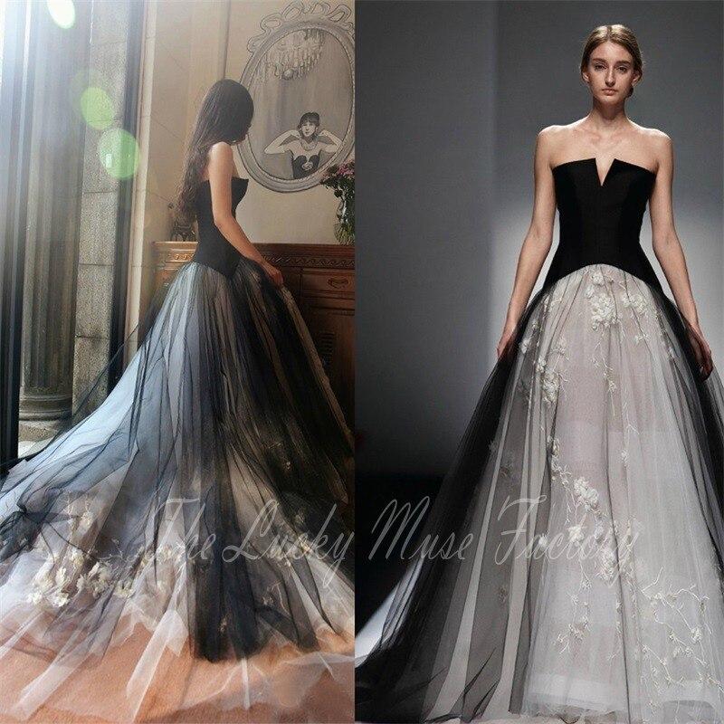 Plus Size Gothic Wedding Dresses. Amazing Madetoorder Itemall And ...