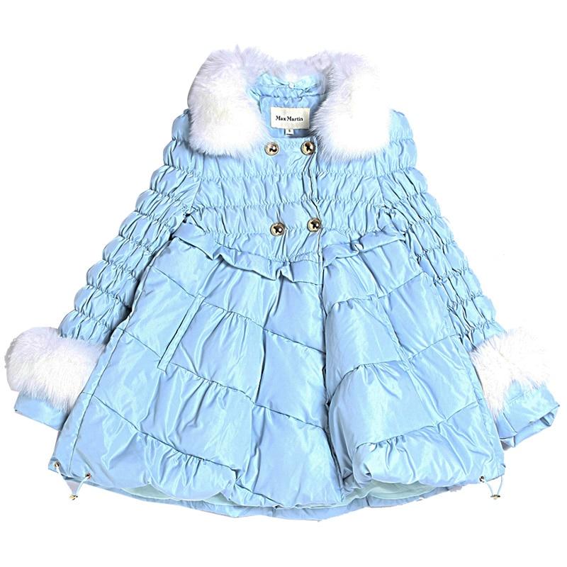Survêtement Fourrure Gamme Femmes Hiver Amovible Épaississement Lcy792 Nouvelle Femelle Coton Col Mode Haut Renard Vêtements De Chaud En Wathet Rembourré tYRnpnq
