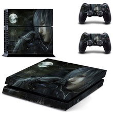 ps4 skin sticker of Final Fantasy XV for Sony PS4 PlayStation 4 and 2 controller skins