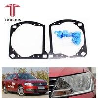 Taochis Car Styling Retrofit adapter frame Headlight Bracket for VW Volkswagen New Lavida Hella 3R G5 5 Koito Q5 Projector lens