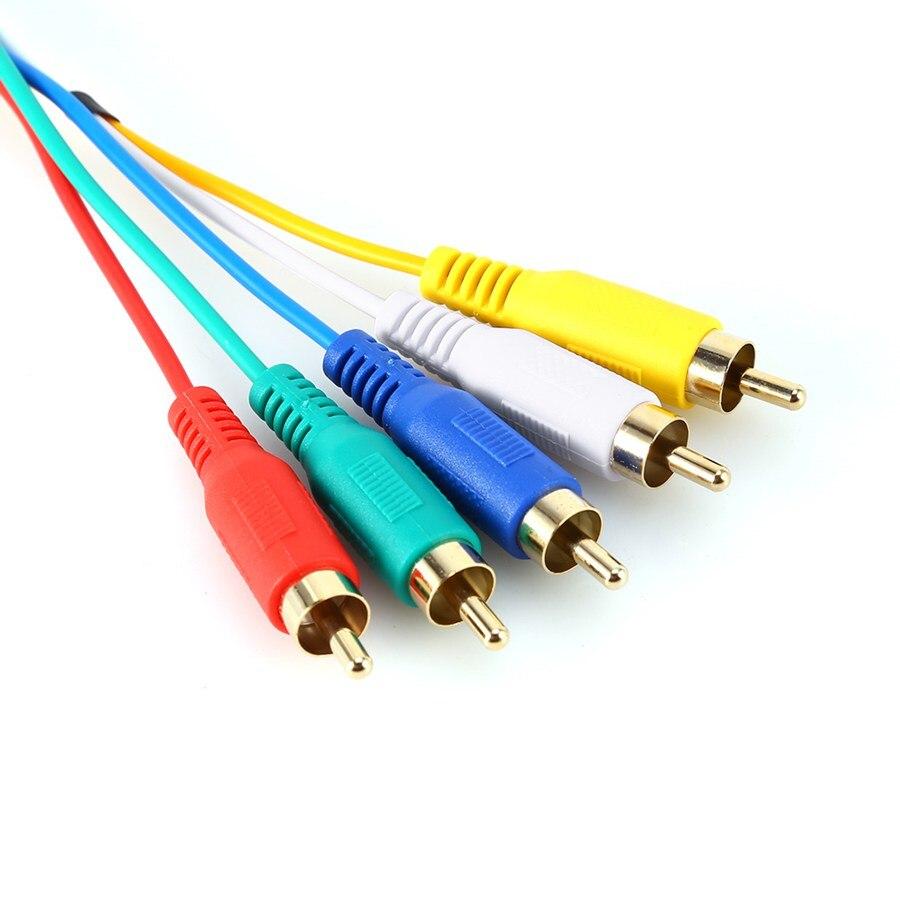 HDMI Stecker auf 5 Cinch kabel von 5FT/1,5 Mt HDMI Stecker auf 5 ...