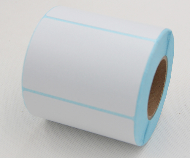 Aliexpress com : Buy 5 rollsPOS thermal label paper 80x100mmThermal printer  Thermal Labels waterproof barcode blank stickers (total 1500 labels) from