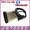 Novo Design de 2013 R3 (com Keygen ativador) CDP TCS bluetooth CDP Pro + cabo de Led para Carros + Caminhões Genéricos OBD & OBDII Ferramenta de Diagnóstico