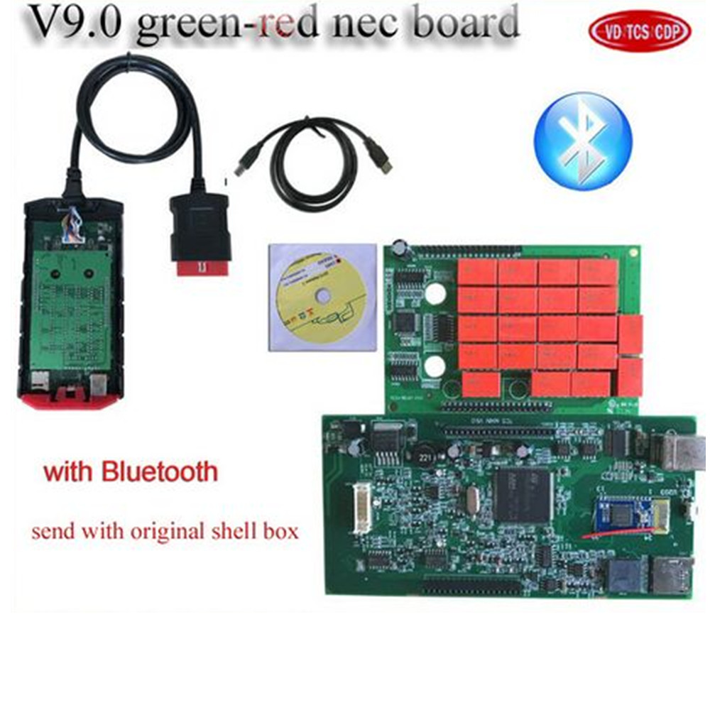 VD TCS CDP Pro Plus with 2016.0 R0 version free active Bluetooth for vd ds150e cdp pro MVD Multidiag pro