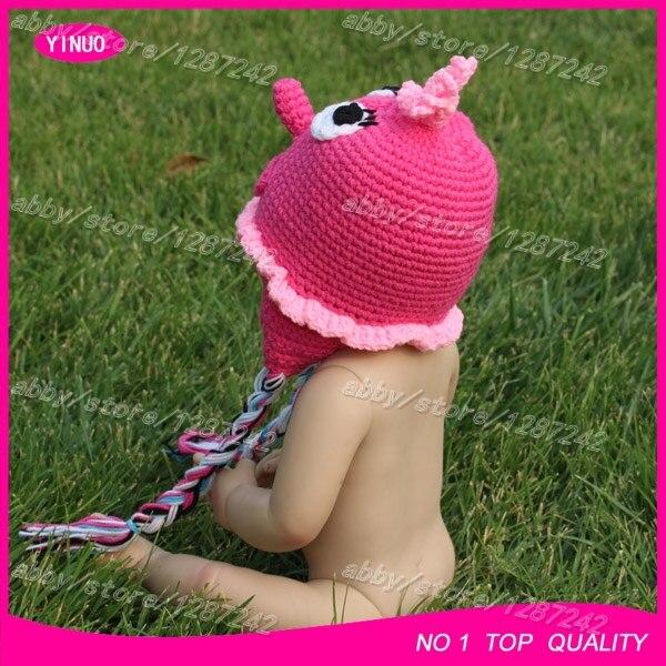 Rosa Neugeborene häkeln hüte, zeichentrickfigur häkeln hut, crochet ...