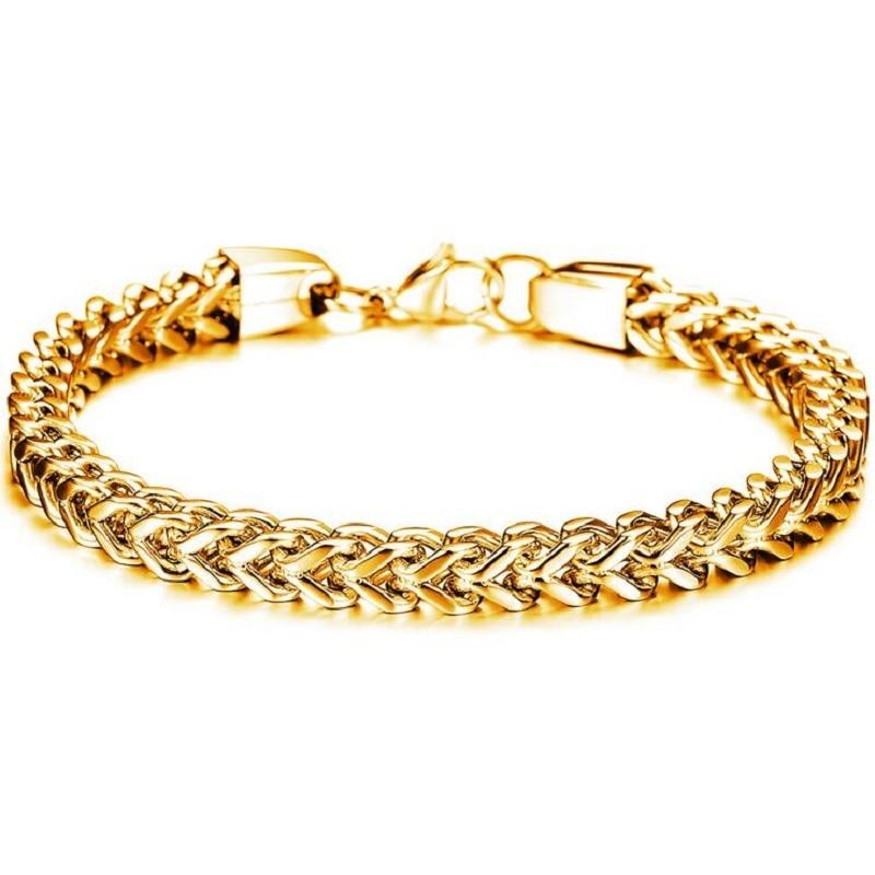 Armband gold herren