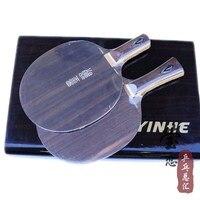 Original Milkey way Yinhe moyun 7 senior ebony NE 70 table tennis blade ebony 7 fast attack with loop table tennis racket indoor