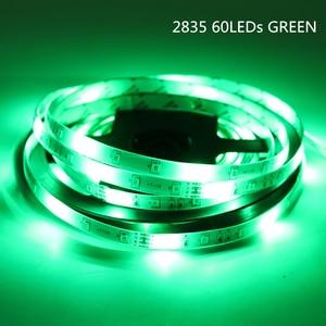Image 5 - DC 12 V LED 스트립 빛 SMD 2835 방수 LED 스트립 AC 220V 5m 60LED 120LED 240LED 12 V 램프 테이프 유연한 테이프 리본 램프