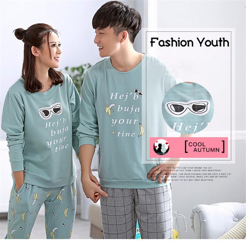 lovers pajamas couple sleepwear 01