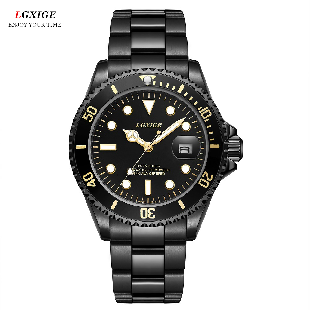 2018 New Luxury Brand Luminous Quartz Men's Watch