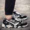 Лето камуфляж мужские спортивная обувь мужская повседневная обувь Корейский модные ботинки холстины runner кроссовки зашнуровать обувь для человек