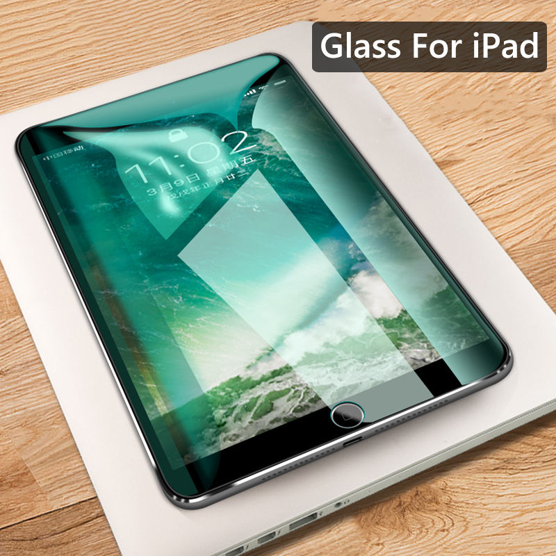 Tempered Glass For Apple iPad 2018 2017 Screen Protector For iPad Air2 1 Pro 9.7