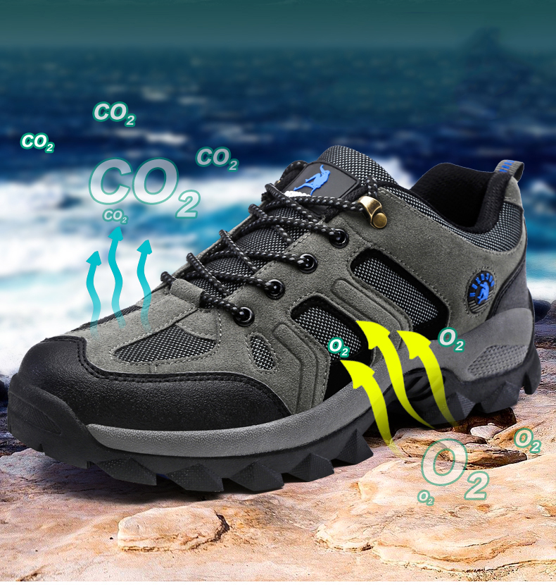 VESONAL 2019 New Autumn Winter Sneakers Men Shoes Casual Outdoor Hiking Comfortable Mesh Breathable Male Footwear Non-slip