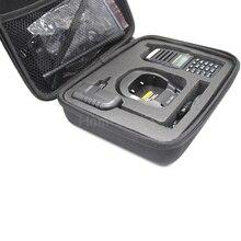 2PCS Two Way Radio Tailored Storage Box/Handy carry bag Carring case for Baofeng UV-82 UV-89 UV-8 UV-82HP UV-82TP Walkie Talkie