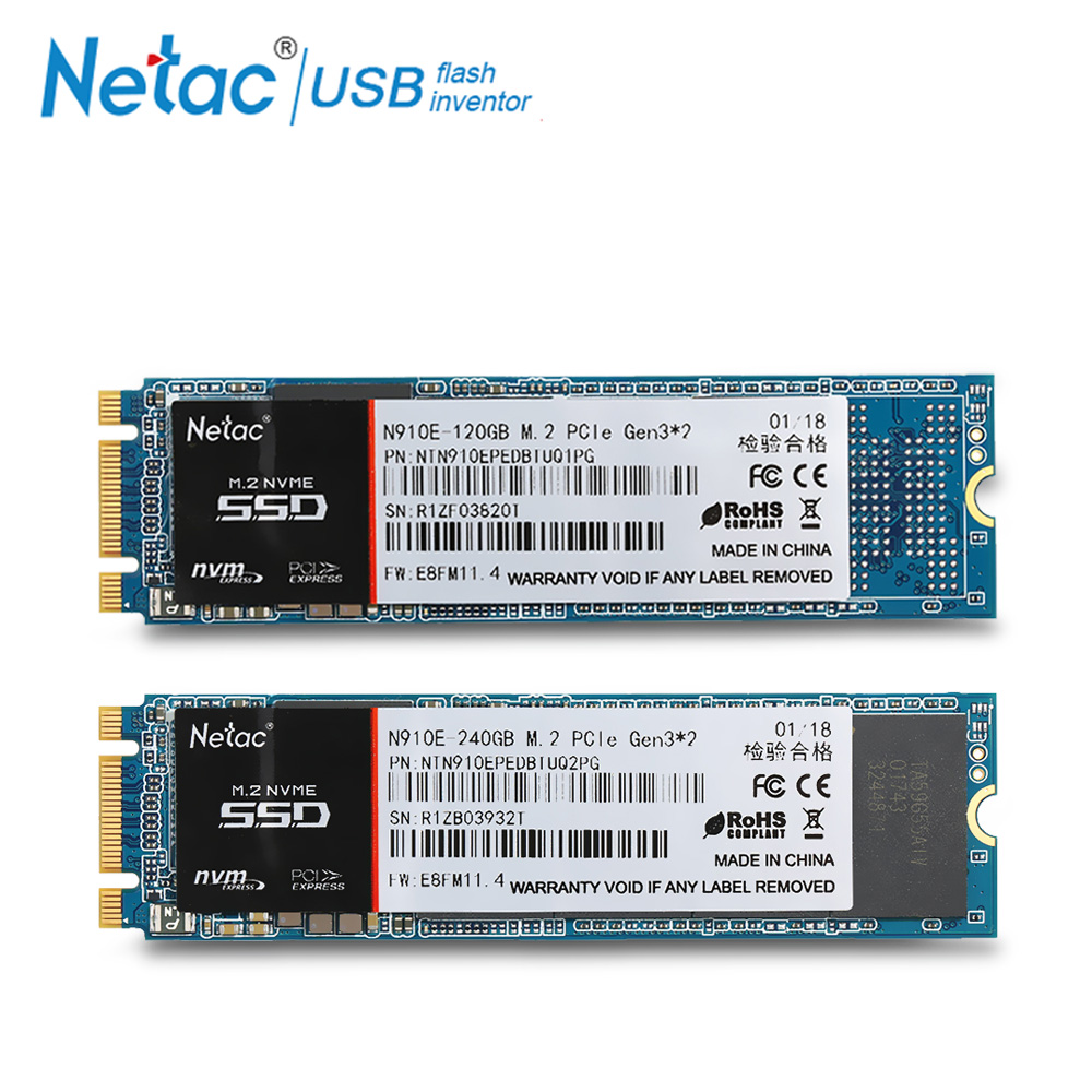 Netac M.2 240 GB 120GB SSD M2 2280 Internal Solid State Drive SSD 240GB 120 GB NVMe Laptop Hard Drive High Speed For PC Computer ssd 756642 b21 240 gb 2 5inch sata 6g solid state drive 1 year warranty