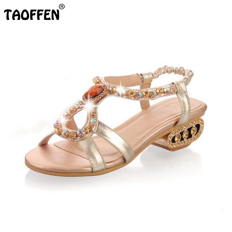 ФОТО free shipping quality genuine leather high heel  sandals women sexy footwear fashion lady shoes P13567 hot sale 34-43