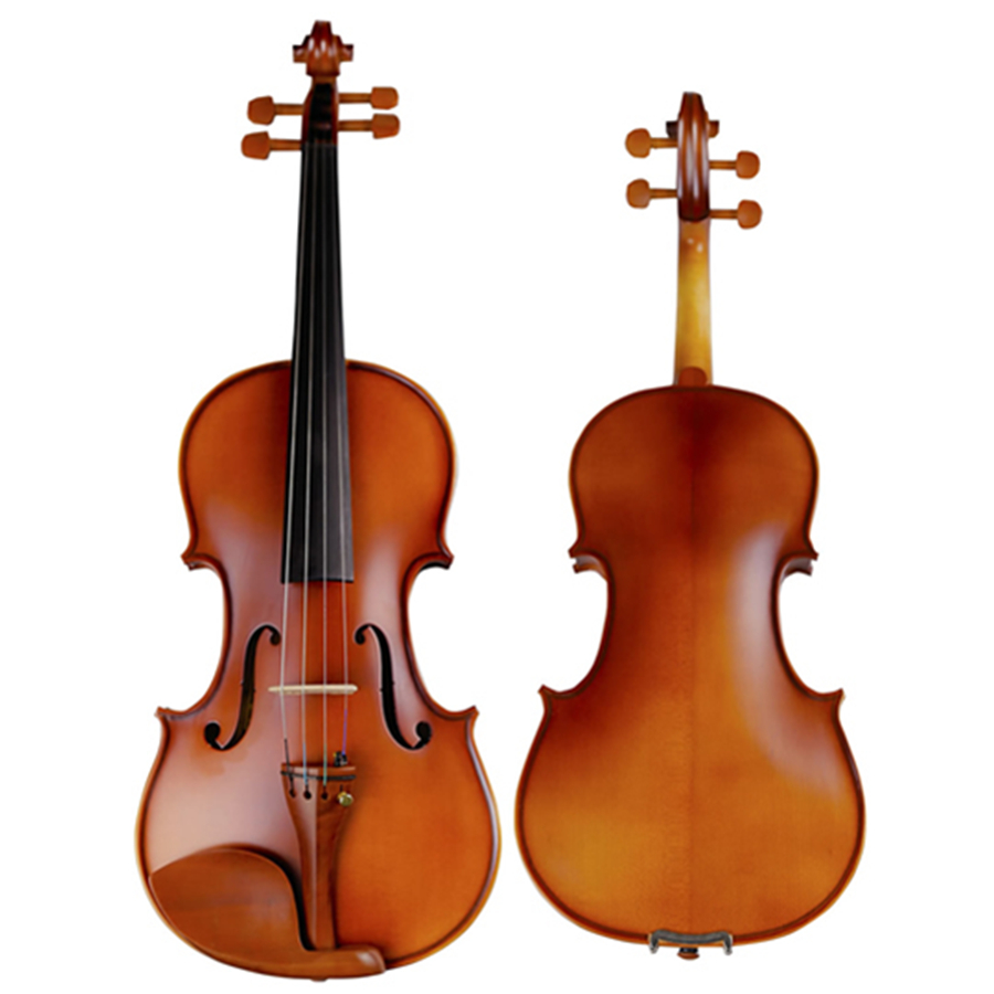 Antique Violin 4/4 High Grade Hand-made Matt Varnish Violino Musical Instrument Spruce Maple with Case Bow Rosin for Beginner