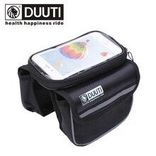 Bag Tube-Panniers Bicycle-Frame Cycling Phone-Case Touchscreen Mountain-Road-Bike-Bag