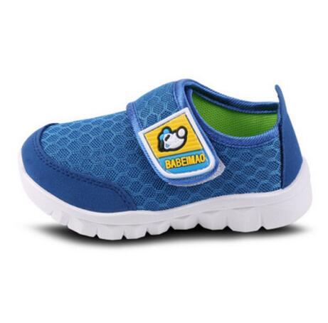 Chaussures de sport respirant chaussures de maillage garçons de chaussures pour enfants réseau, Green 37
