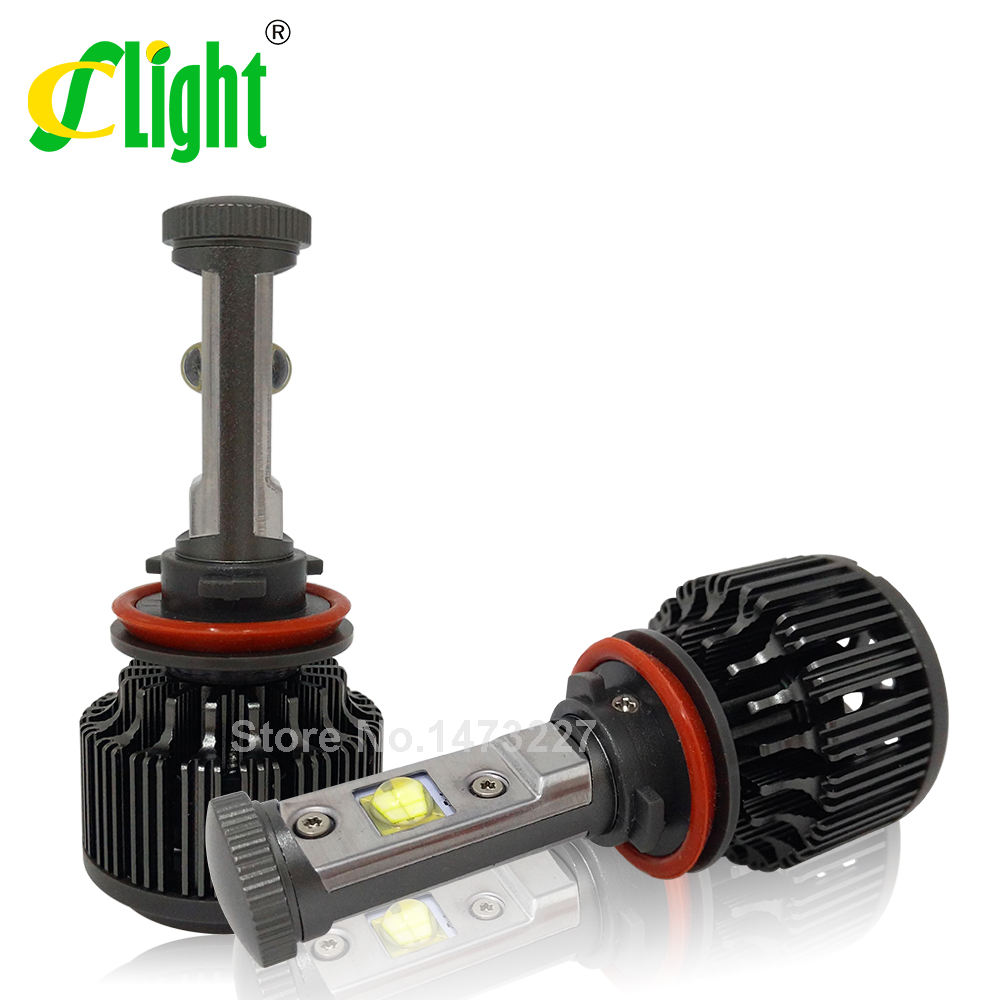 H11 LED with Cree chips 30W 3600LM Car Head font b Light b font Fog DRL