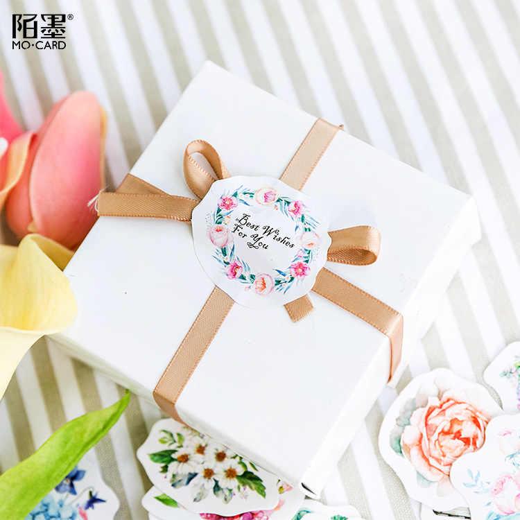 Gorąca sprzedaż kwiat Mean Washi taśma udekoruj Washi zestaw taśm maskujących japoński Diy naklejki Scrapbooking klej biurowy taśma