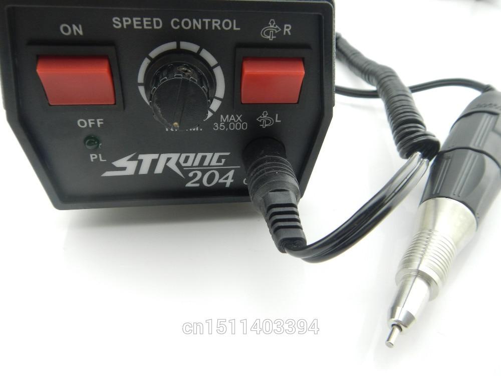 ЮВЕЛИРНЫЕ ИНСТРУМЕНТЫ микромотор Сильный 204 Корея микромоторные, ювелир инструменты гравер 102 наконечник