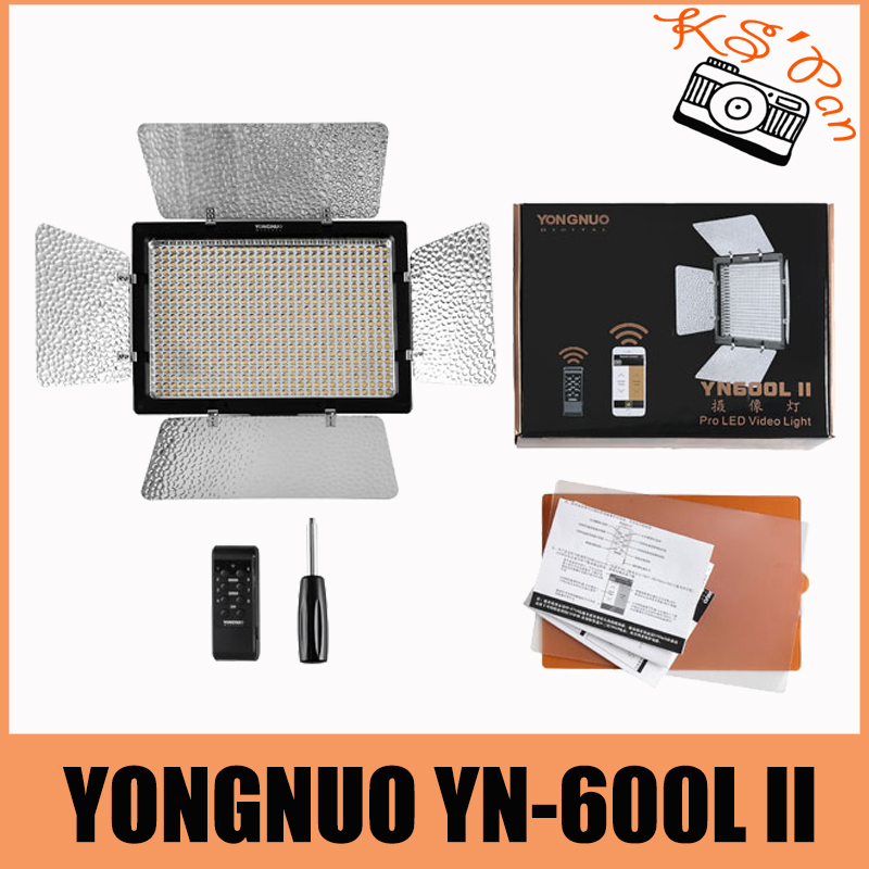 Yongnuo YN600 II <font><b>YN600L</b></font> II 5500K LED Video Light Support Remote Control by Phone App for Interview image