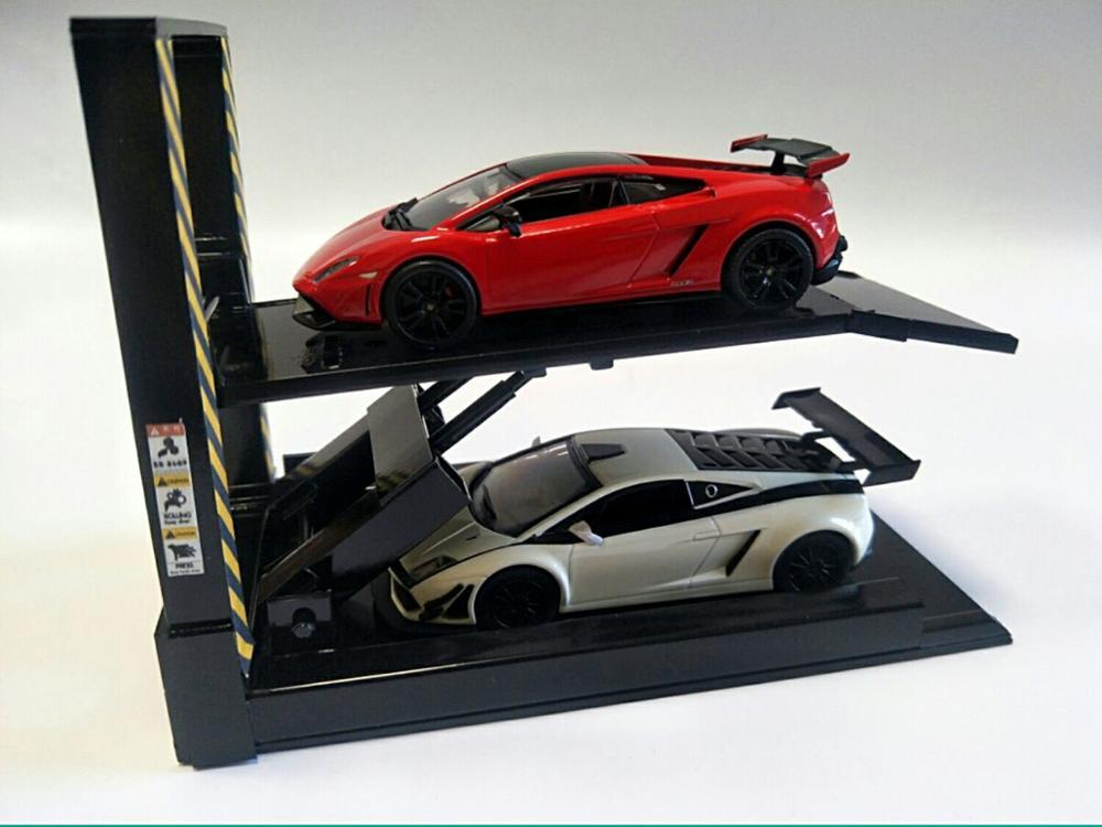 1:64 black Auto Lift /& BARDAHL Garage Equipment Shoptools Loose 1:64