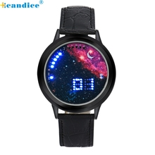Relogio Masculino Feminino Horloge Supper Deal Scorching Sale NEW Contact LED Digital Multifunctional Sports activities Ladies Males Lady Boy Watch