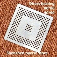 ความร้อนโดยตรง 80*80 90*90 MPC555LF8MZP40 MPC555LF8MZP MPC555 BGA Stencil แม่แบบ