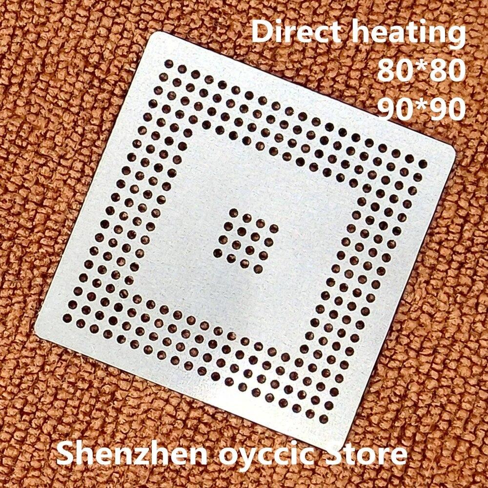 Direct Heating  80*80  90*90  MPC555LF8MZP40  MPC555LF8MZP  MPC555  BGA Stencil Template